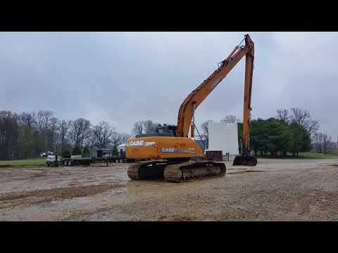 BigIron Auction 5/30/18 Case CX240B Long Reach United Excavating