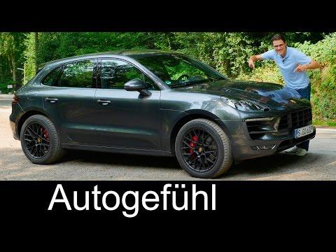 Porsche Macan GTS 3.0 V6 FULL REVIEW test driven Autobahn new neu SUV 2017