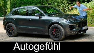 Porsche Macan GTS 3.0 V6 FULL REVIEW test driven Autobahn new neu SUV 2017