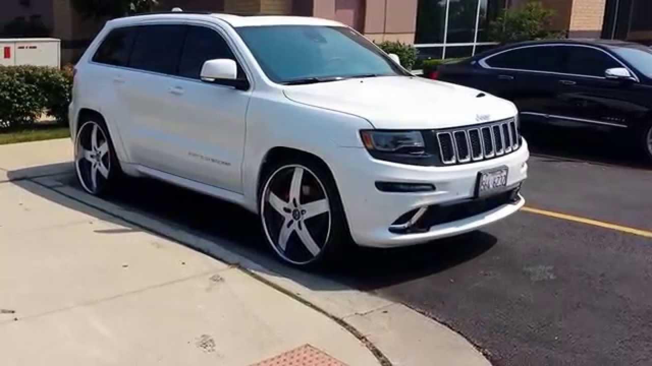 2014 Jeep Grand Cherokee Srt8 26 Quot Vellano Youtube