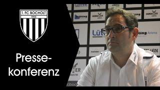 Pressekonferenz 20. Spieltag: 1. FC Bocholt - TSV Meerbusch 2:1 (1:0)