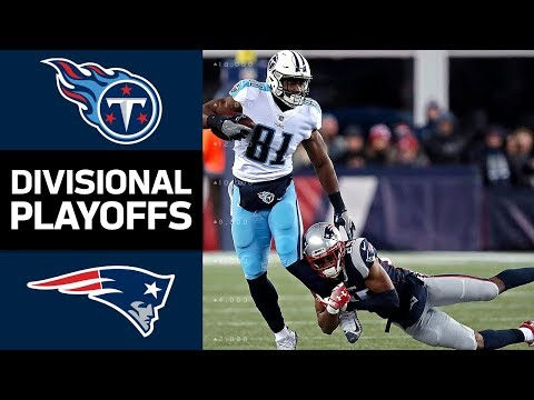 Titans vs. Patriots | NFL Divisional Round Game Highlights