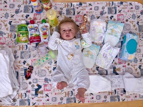 Вещи для реборнов в поездку / что я возьму для куклы реборн в поездку / Bad Baby / Reborn Dolls