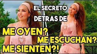 Se Revela El Secreto De Thalía Me Oyen Me Escuchan Me Sienten La Canción