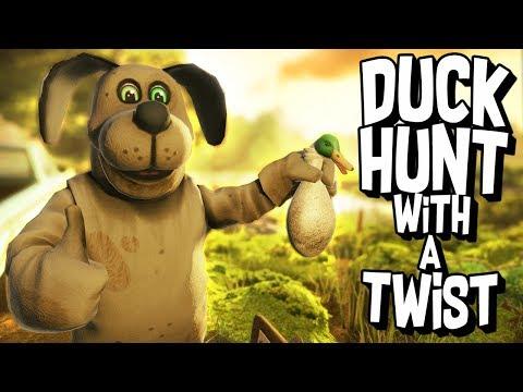 DUCK HUNT meets FIVE NIGHTS AT FREDDYS!  - Duck Season VR (VR HTC Vive)