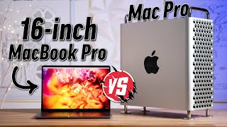 "Mac Pro vs 16"" MacBook Pro - Worth $11,500 More?"