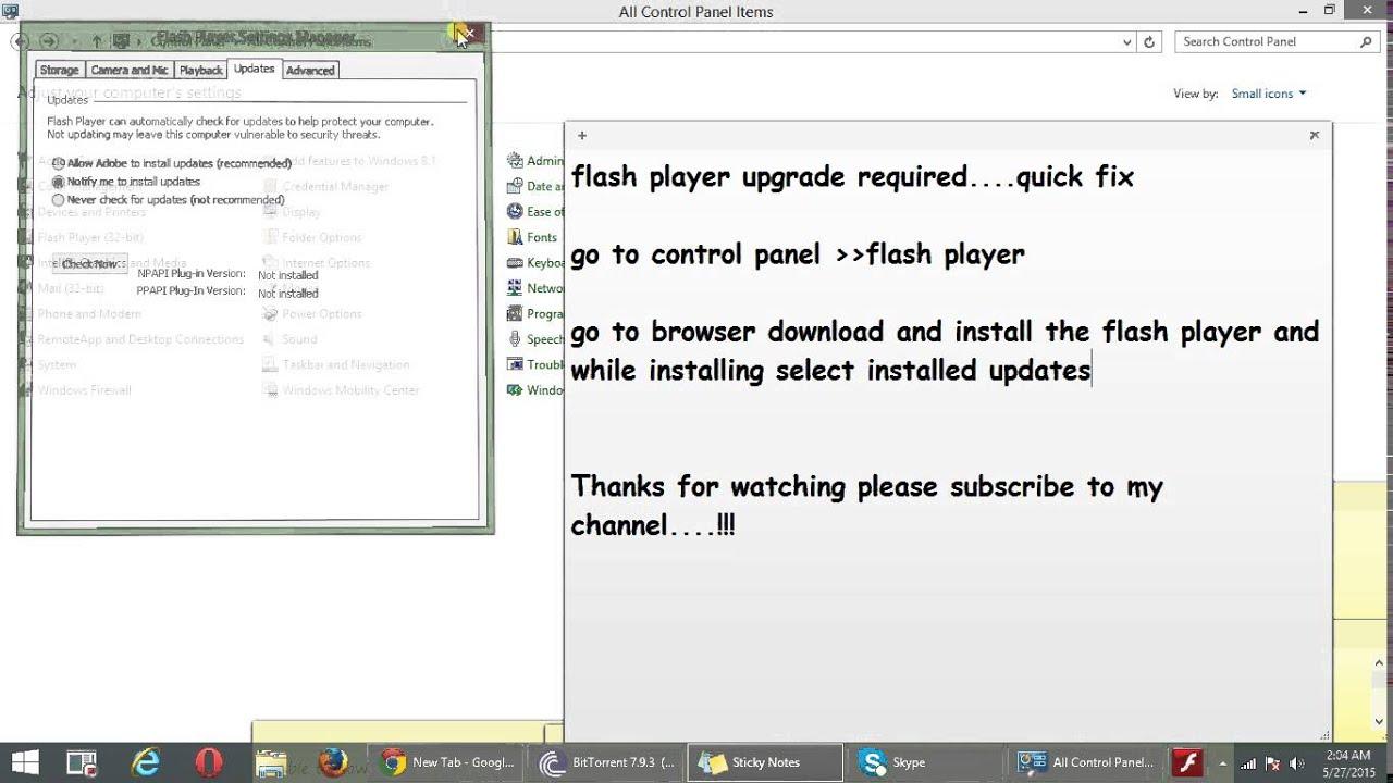 media flash player download