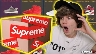 $1,000 Online Hypebeast Surprise Box! Off White Supreme Yeezy