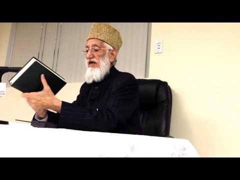 Maulana Yusuf Islahi address to ICNA volunteers at 877 WhyIslam Center on Somerset NJ