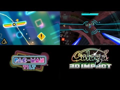 PAC-MAN & Galaga DIMENSIONS - N3DS - Available Now!