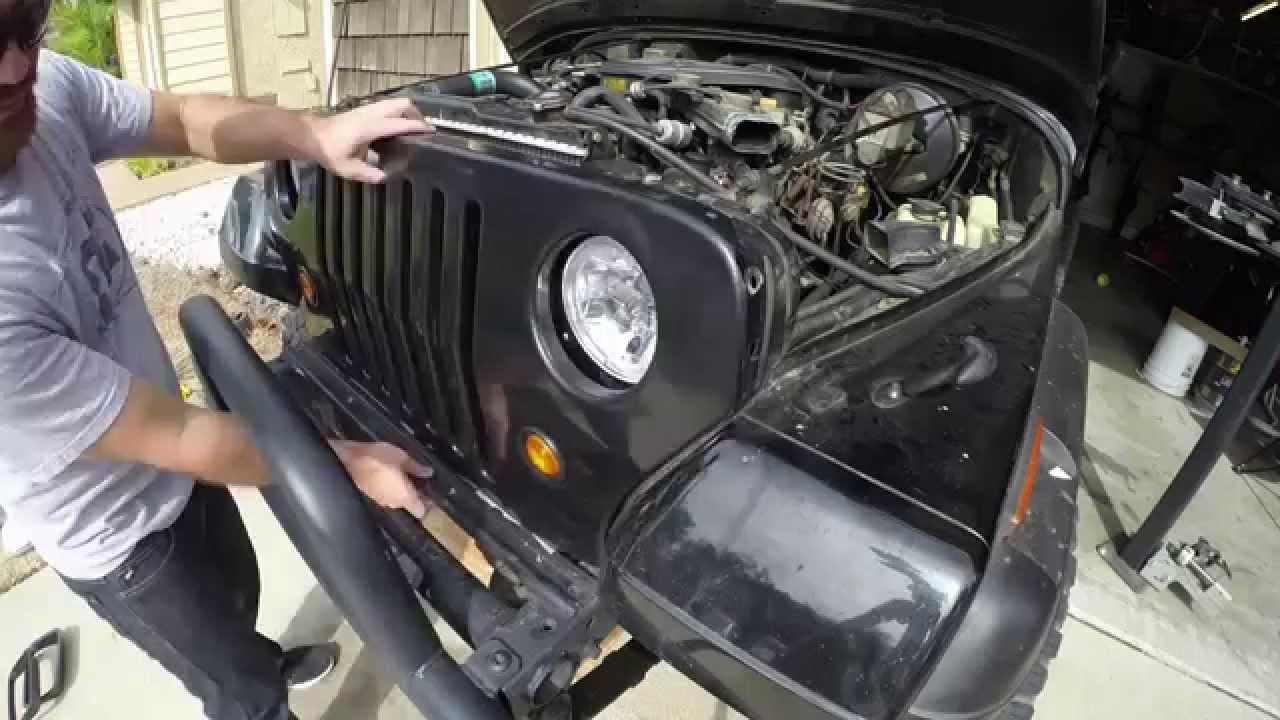 Jeep Wrangler Yj Headlight Conversion Kit Yj Conversions