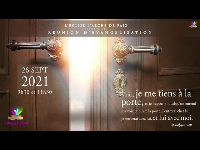 En Christ, Dieu nous a élevé - Pasteur MOKE - Dimanche 19 Septembre 2021