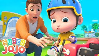 Riding A Bike Song | Let's Ride Bikes + More Nursery Rhymes & Kids Songs - Super JoJo
