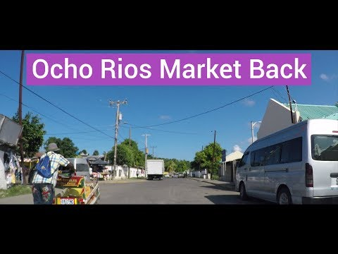 Ocho Rios Market Back, St Ann, Jamaica