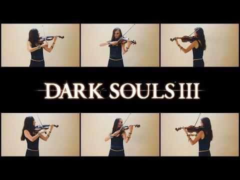 Dark Souls 3 - Main menu theme (Anastasia Soina violin)