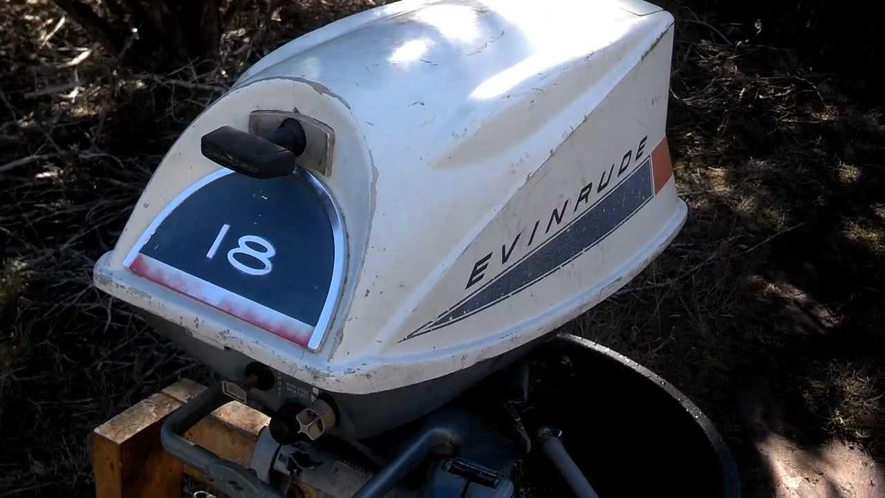1968 18802e Evinrude 18 Hp Outboard Youtube Engine Diagram