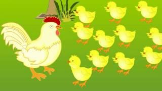 Telugu Cartoon Story | Bangaru Kodi Pilla | A Wise Little Hen