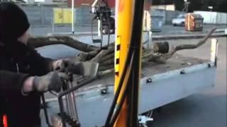 Zestaw ciągnik DF 40KM + HDS + Chwytak www.redmet.pl