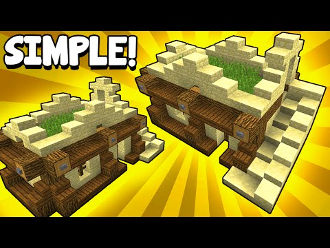 Simple Desert-Themed Survival House! - Minecraft Tutorial
