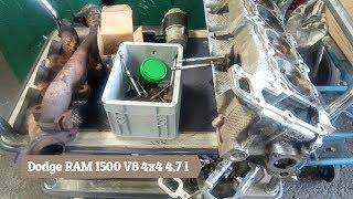 Dodge RAM 1500 V8 nach Betrieb mit Gas Diverse Schäden und Abhilfe bei Zylinderköpfen