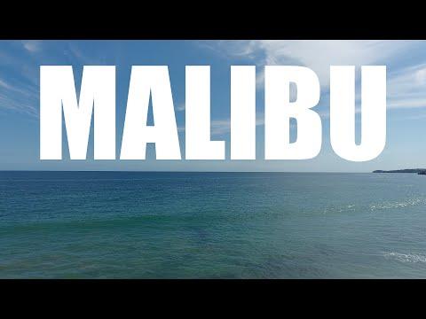 Drone Footage - Malibu Beach California - 4K - incl. GoPro Night Drive