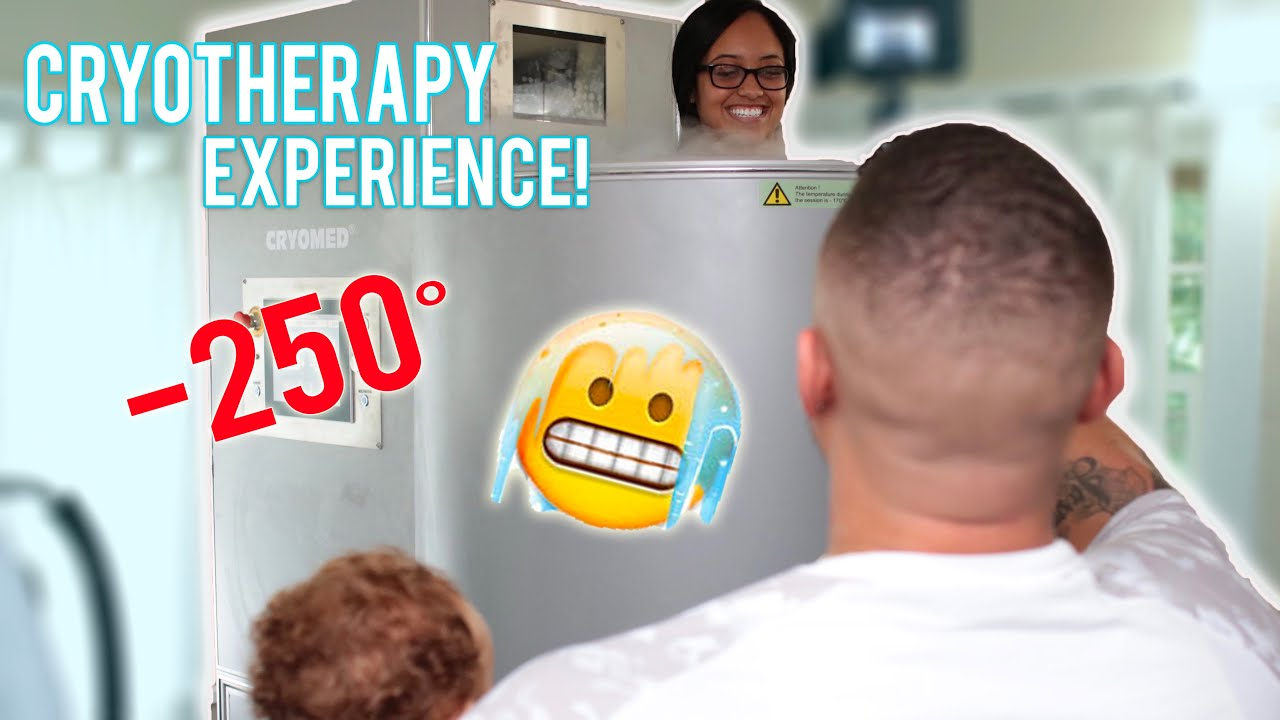 TRYING CRYOTHERAPY FOR THE FIRST TIME!! | THE DOBSONS