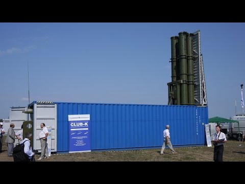 Club-K Container Missile System - Russia