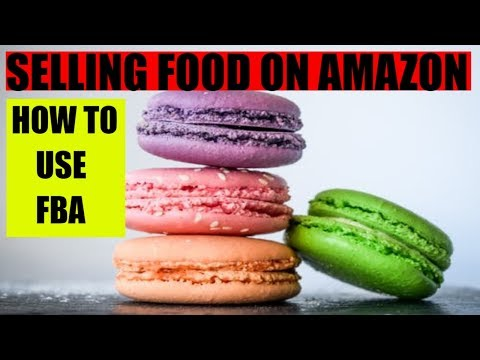 Selling food on Amazon How to Amazon FBA works Beginners tutorial thumbnail