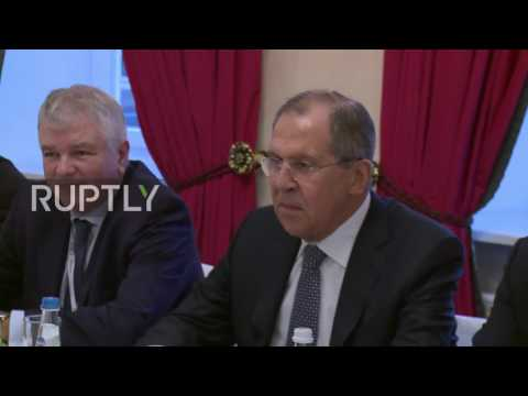 Germany: Lavrov meets with NATO SecGen Stoltenberg in Munich