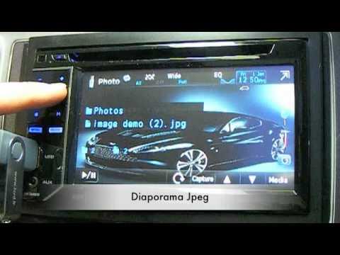 pioneer avh 2300dvd new 2011  station multimedia  youtube