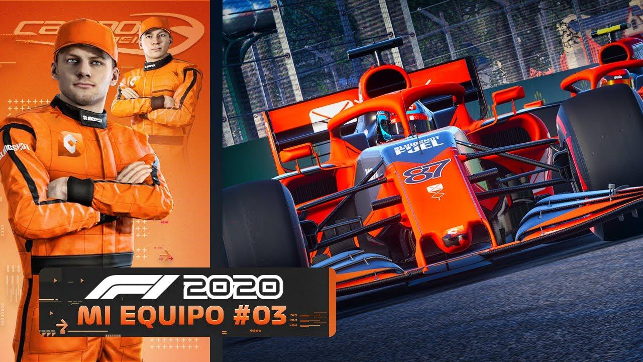 """F1 2020 MODO """"MI EQUIPO"""" - NUEVO CIRCUITO Y NUEVA LIVERY (Campos Racing #3)"""