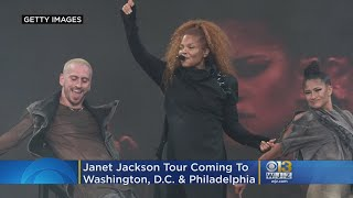 Janet Jackson's Black Diamond World Tour Coming To DC's Capital One Arena In July