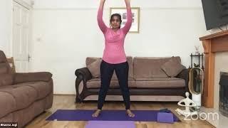 15-07-2020 - Hatha Yoga With Bhavnaben Jogi