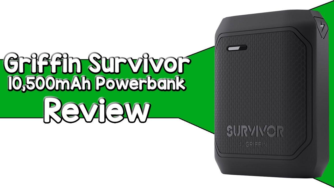 newest e4acc e40f3 Biggest Powerbank We've Seen So Far   Griffin Survivor Review