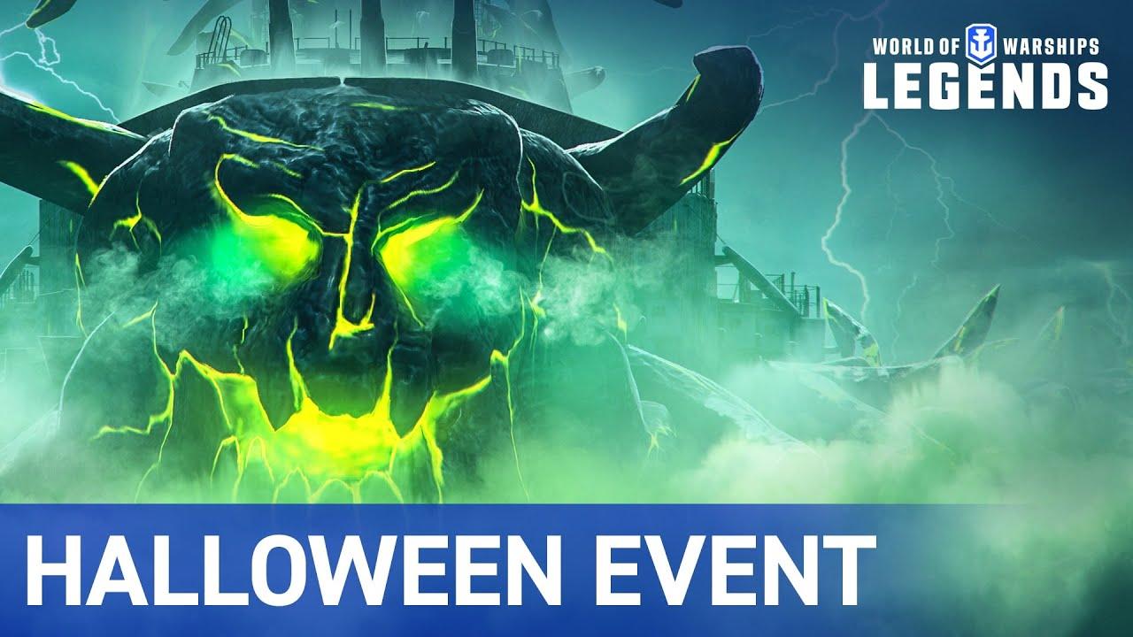 World Of Warships Halloween Event 2020 World of Warships: Legends   Halloween Event Trailer   YouTube