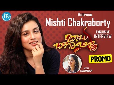 Actress Mishti Chakraborty Exclusive Interview PROMO || #BabuBagaBusy || Talking Movies With iDream