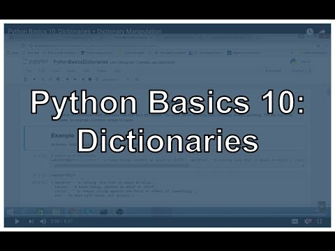 Python Dictionary and Dictionary Methods - By