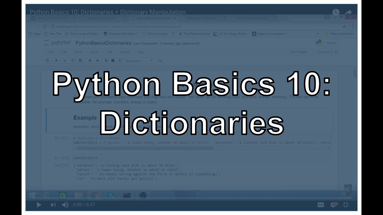 Python Dictionary and Dictionary Methods - Michael Galarnyk