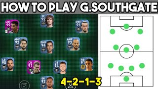 G. Southgate Pes 2020 Mobile Formation Guide & Tactics | How To Play Quique Setien