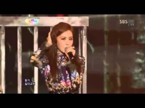 [121229] 4 Minute - Volume Up [2012 SBS Gayo Daejun]