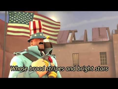 [TF2] Soldier Sings the American National Anthem