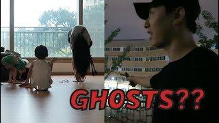 KOREA DIARY   HAUNTED SCHOOLS?!? + WORKOUT WITH MOM! 엄마랑 운동하기
