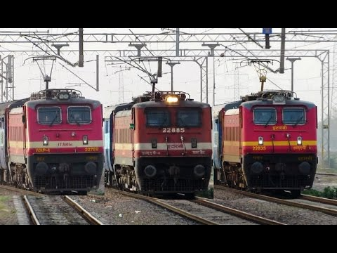 SUPERFAST TRAINS For JABALPUR : 3 in 1 Compilation !!