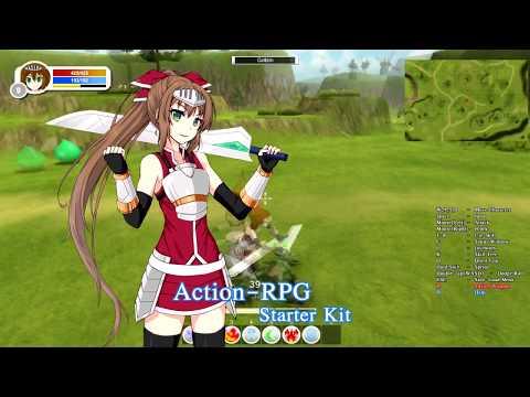 Action-RPG Starter Kit 6.0 Trailer