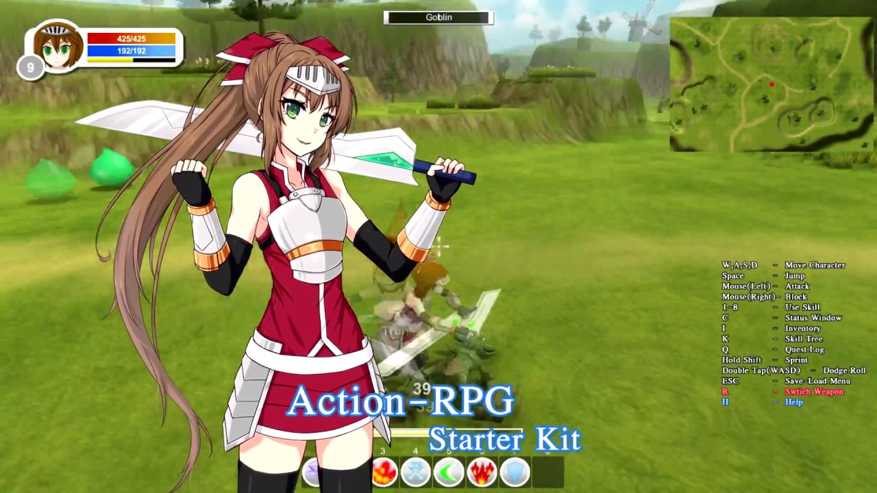 Action-RPG Starter Kit 6 0 Trailer by griever3610