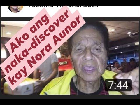 MAR LOPEZ RECALLS HOW HE DISCOVERED NORA AUNOR IN IRIGA TRAIN STATION