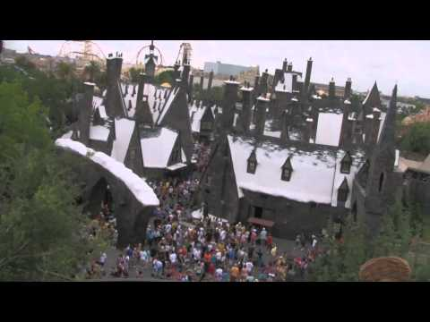 Flight of the Hippogriff ride POV from Wizarding World of Harry Potter