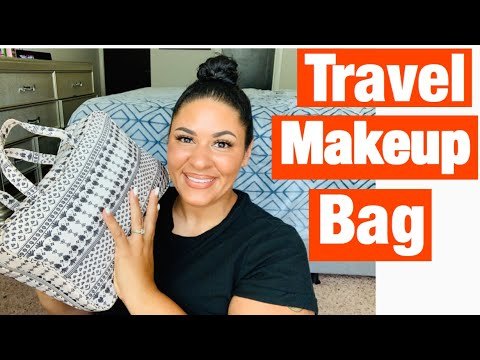 What's In My Travel Makeup Bag| Beautibyelle