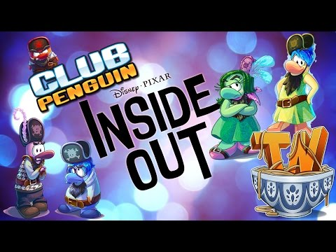 Club Penguin : Inside Out Party Walkthrough