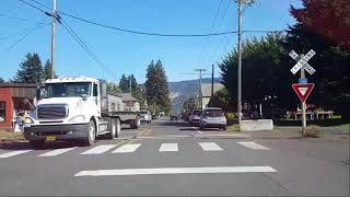 The Dalles OR. Back Roads & Byways. Hyper-lapse Video